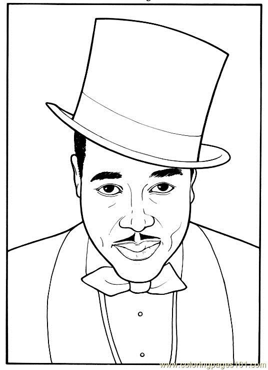 Free Printable Coloring Image Duke Coloring Pages Black History