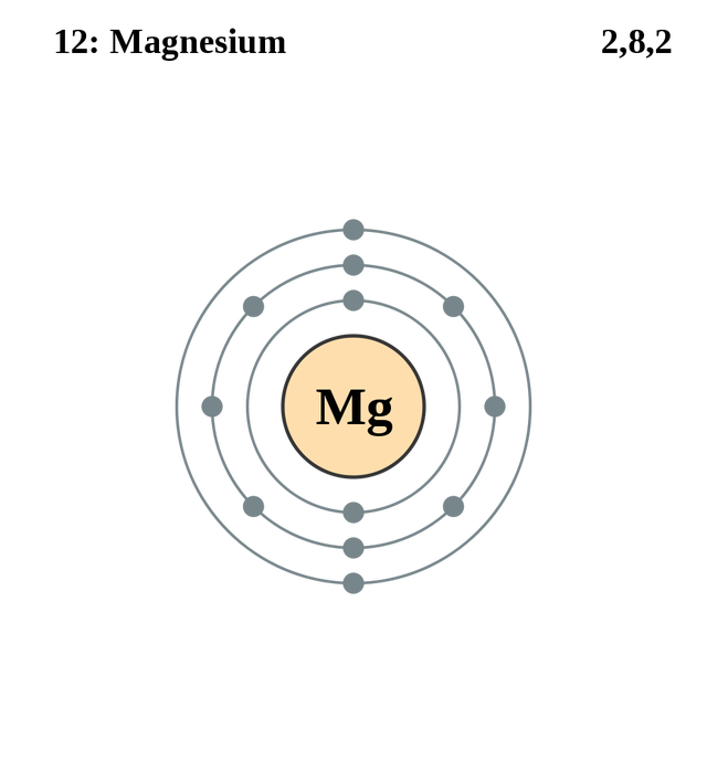 See the electron configuration of atoms of the elements ciencia atom diagrams magnesium atom ccuart Image collections