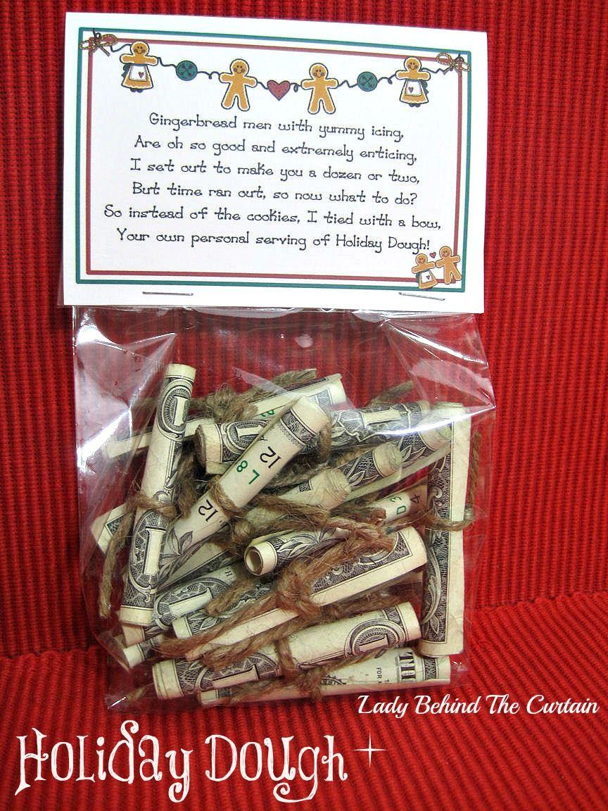 Holiday Dough | Geldgeschenke, Geschenkideen und Geldgeschenke zu ...