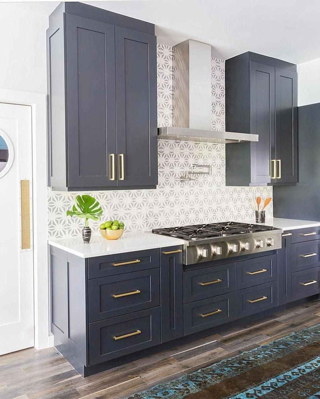 inspect this out kitchen remodel ideas renovation in 2020 navy kitchen cabinets grey painted on kitchen decor navy id=70769