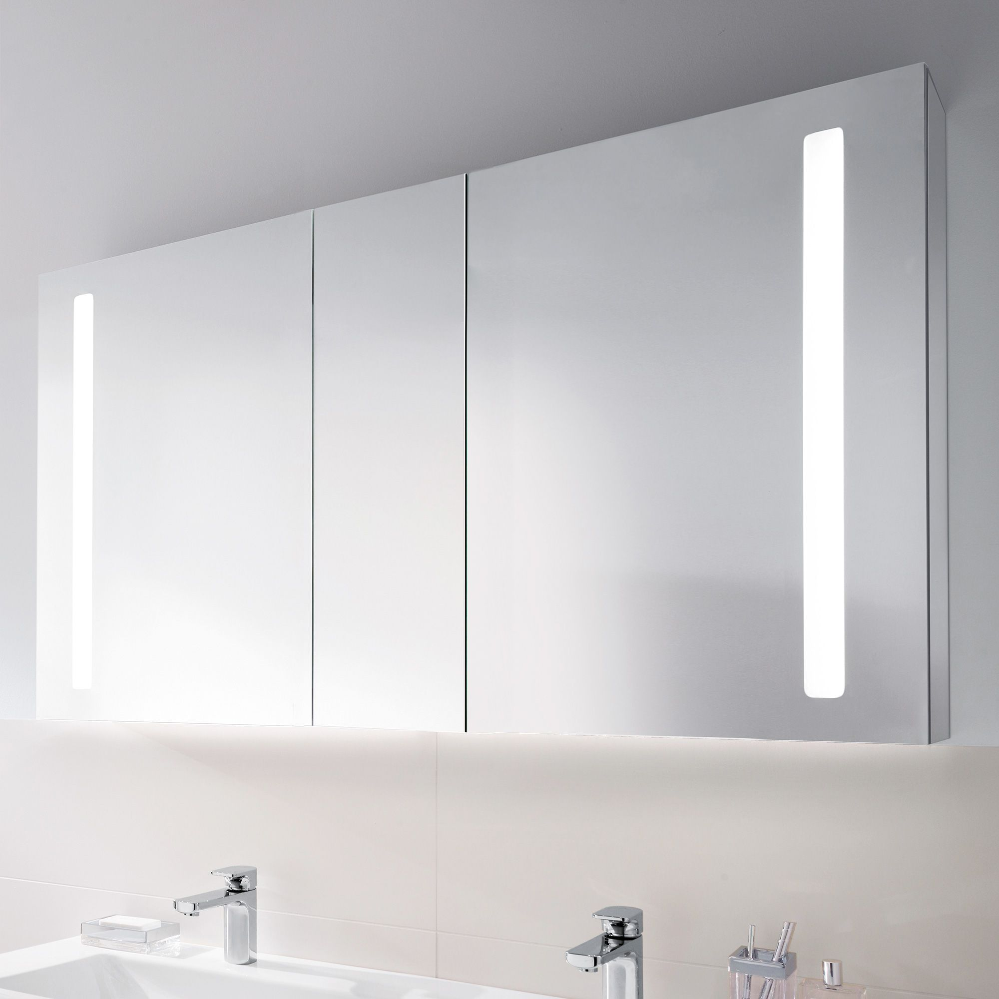 Spiegelschrank Bad Villeroy Boch Villeroy Boch My View 14 Mirror Cabinet With Led Lighting