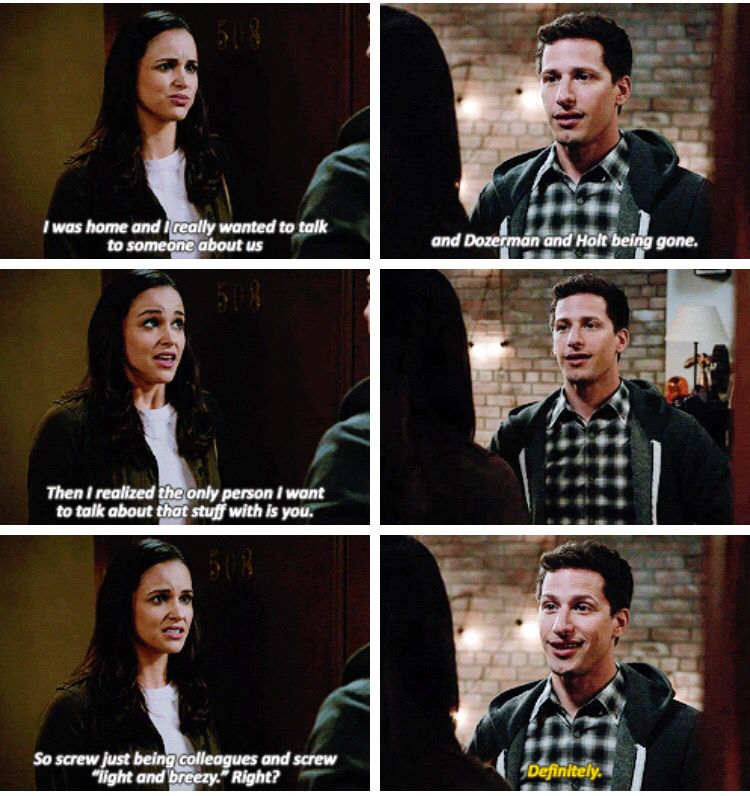 Jake And Amy Developing Their Relationship Beautifully In 3x01