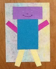 rectangle art for preschool - Google Search … | Preschool ...