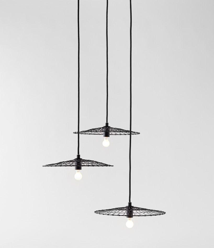 Nendo Twists Basket Lamp With Kanaami-tsuji