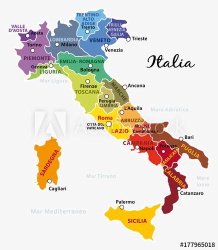 Cartina Spagna Con Regioni E Capoluoghi.Regioni E Capoluoghi Italia Ricerca Google Italia Toscana Sardegna