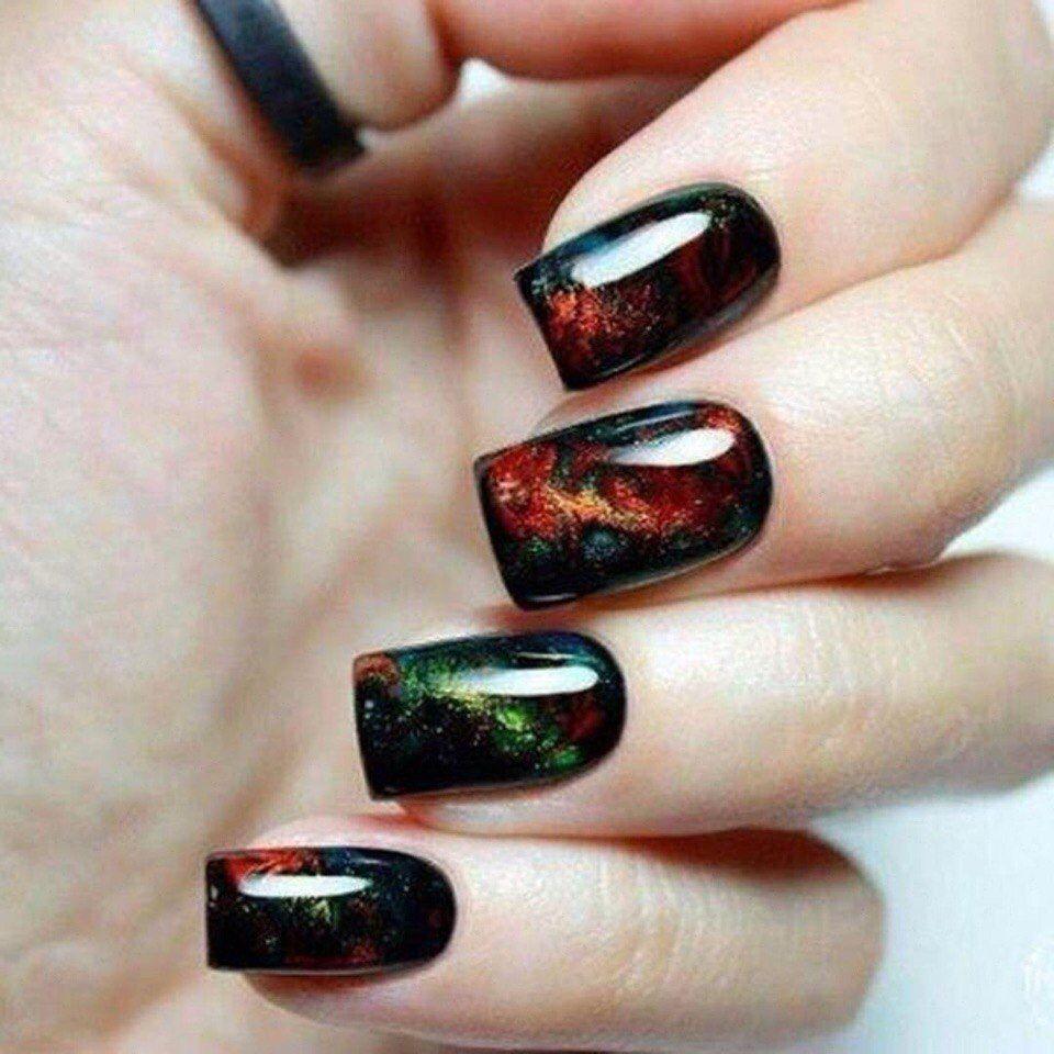 Nail Art #3135 - Best Nail Art Designs Gallery | Black nail art ...