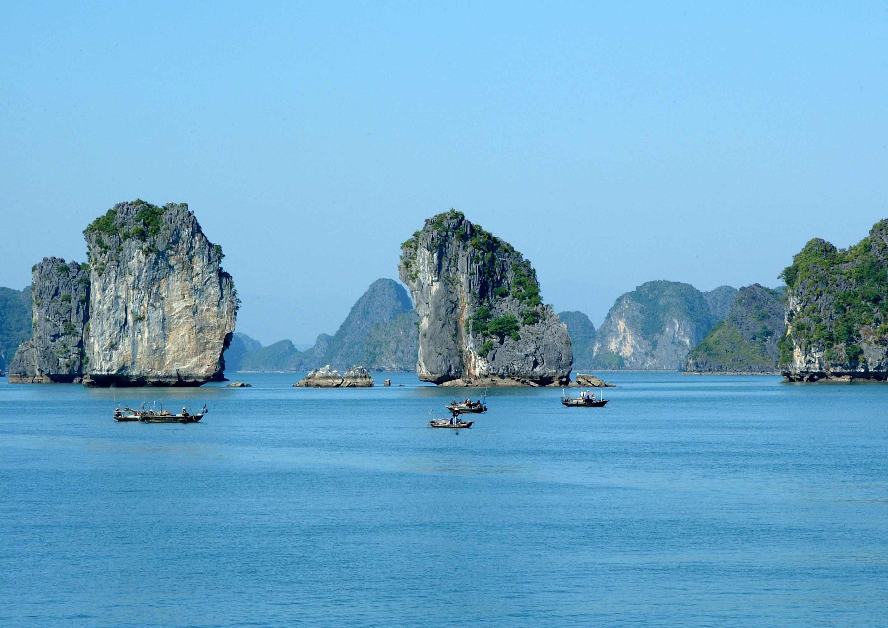 Hinh Nền Vịnh Hạ Long đẹp Du Lịch Tours Chuyến đi