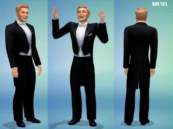 Bruxel - Ballroom Tuxedo | Sims 4 | Pinterest | Ballrooms and Sims