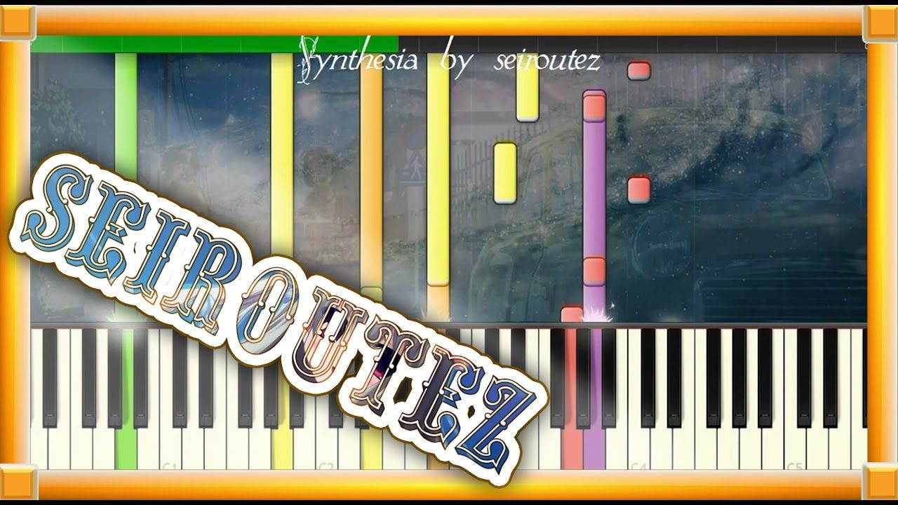 Synthesia Midi Background Song Sheet Songs
