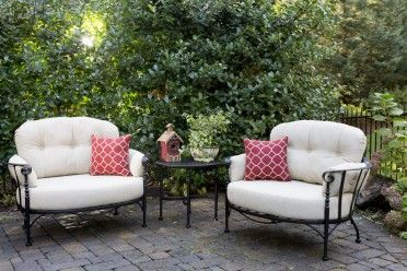 athens 4 piece cuddle group by meadowcraft patio furniture of rh pinterest com meadowcraft outdoor furniture cushions meadowcraft outdoor furniture covers