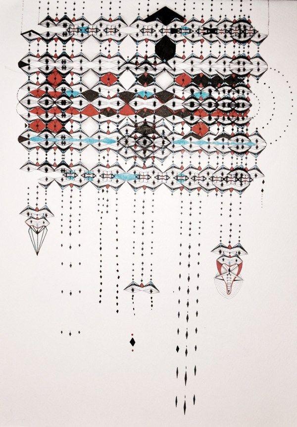 Construcciones by Micaela Podržaj, via Behance
