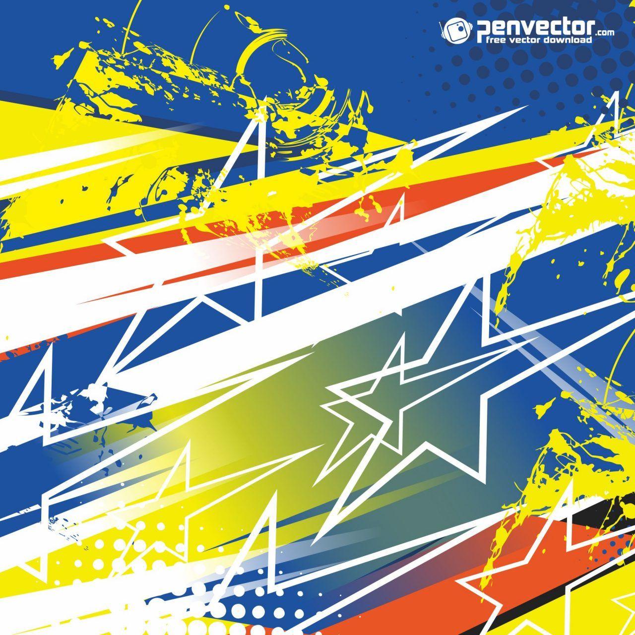 Racing Stripe Streak Abstract Background Free Vector Di 2020 Abstrak Inspirasi Desain Grafis Gambar