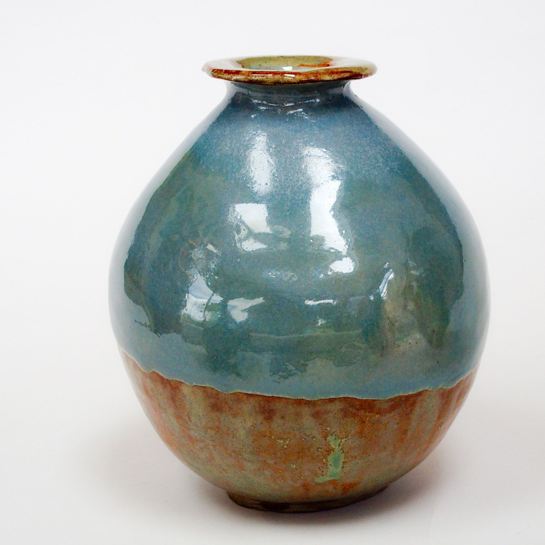 Vases or vase hand coiled vessels duck egg blue vase vibrant hand coiled vessels collection duck egg blue vases handmade vase unique ceramic glazed finish reviewsmspy