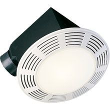View The Air King Ak864l 100 Cfm Deluxe Round Exhaust Fan With Light And 3 5 Sones At Air King Ventingdirect Com Fan Light Bathroom Fan Light Bathroom Fan