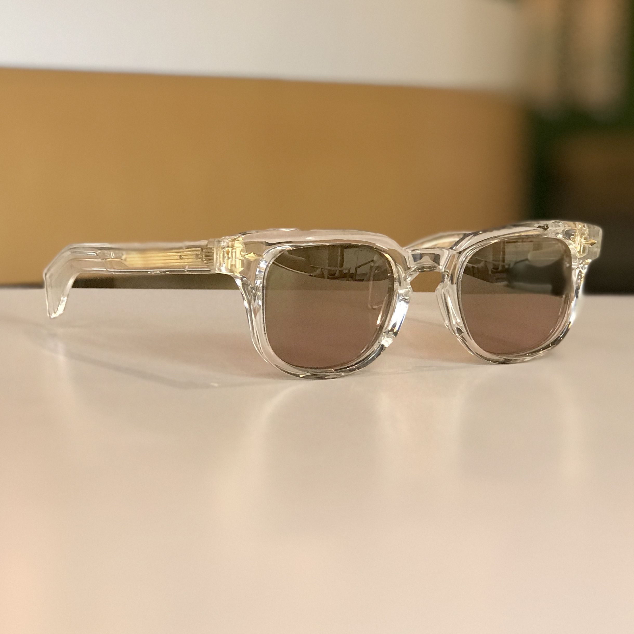156bd2c590b ... latest trend by Eclectic Eye. Clear frames we love