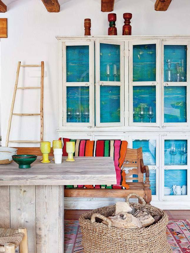 A bright and natural spanish house terracotta floors and white walls reflect the mediterranean - La boheme javea ...