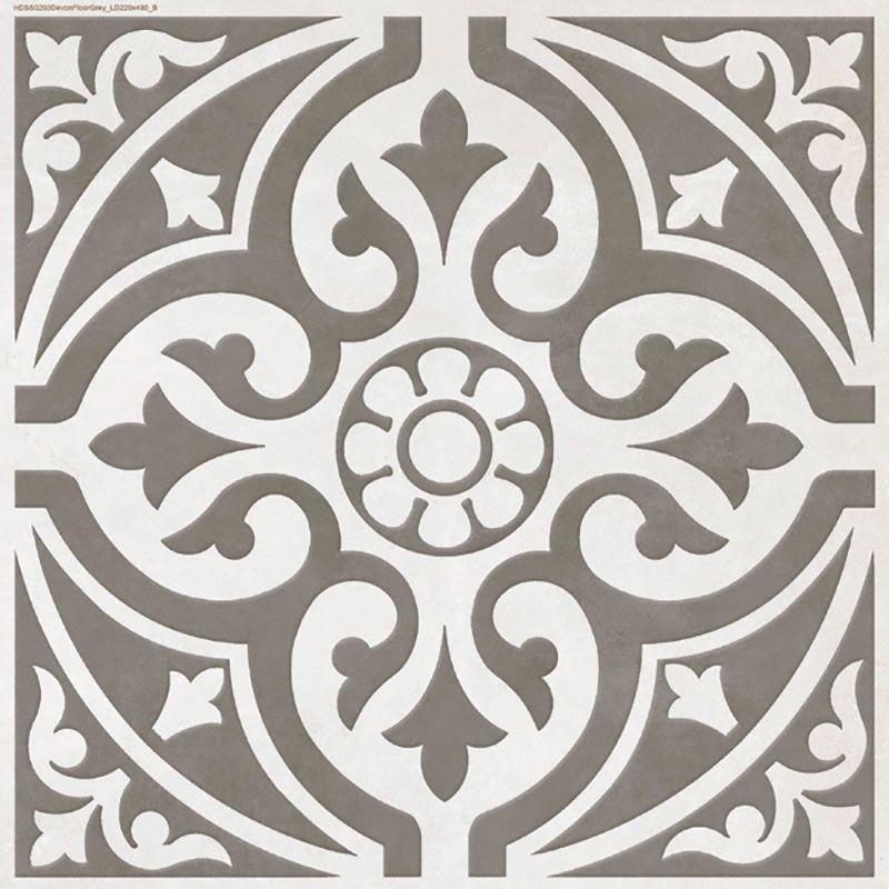Devonstone is a patterned grey floor tile dips into British ...