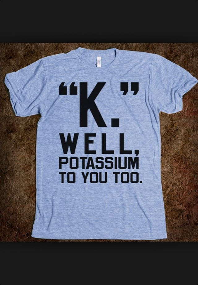 Potassium Has The Chemical Element Symbol K And An Atomic Number Of