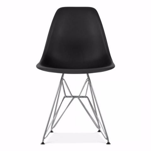 A New Style Black DSR Eiffel Chair (Black Legs)? Click Cult Furniture For  Best Prices, Colourful Variations And Next Day Delivery.
