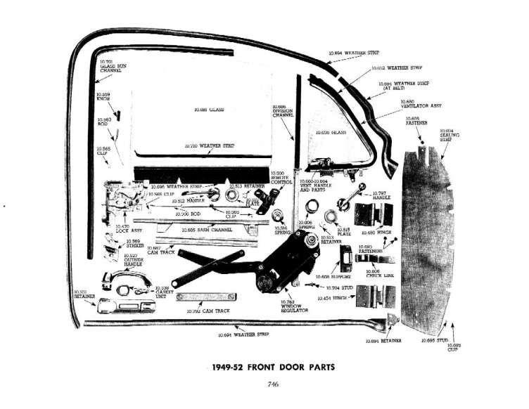 16+ Chevy Truck Door Parts Diagram