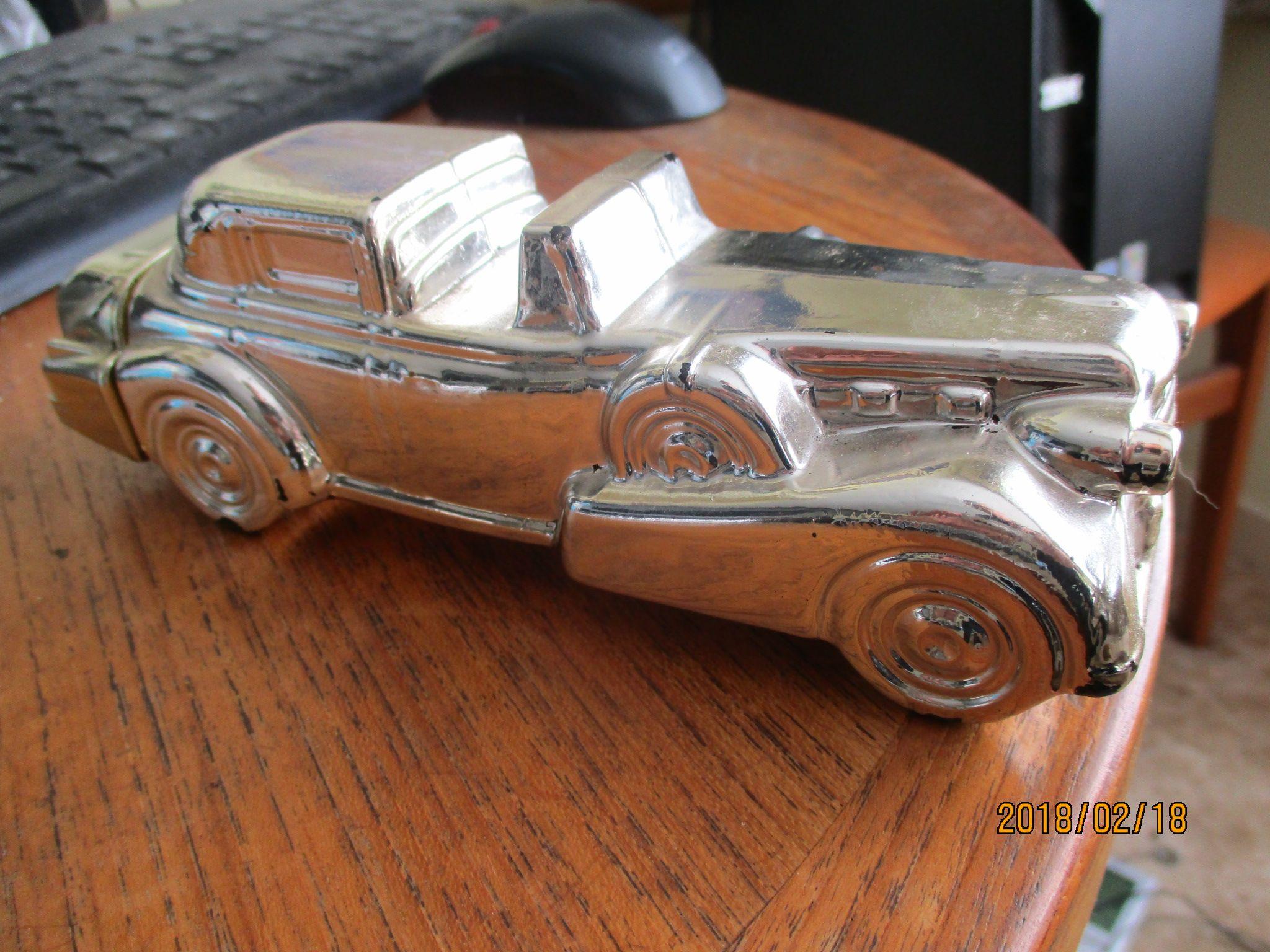 1933 Cadillac Gold Avon Bottle Kingeldo S Tiny Cadillacs
