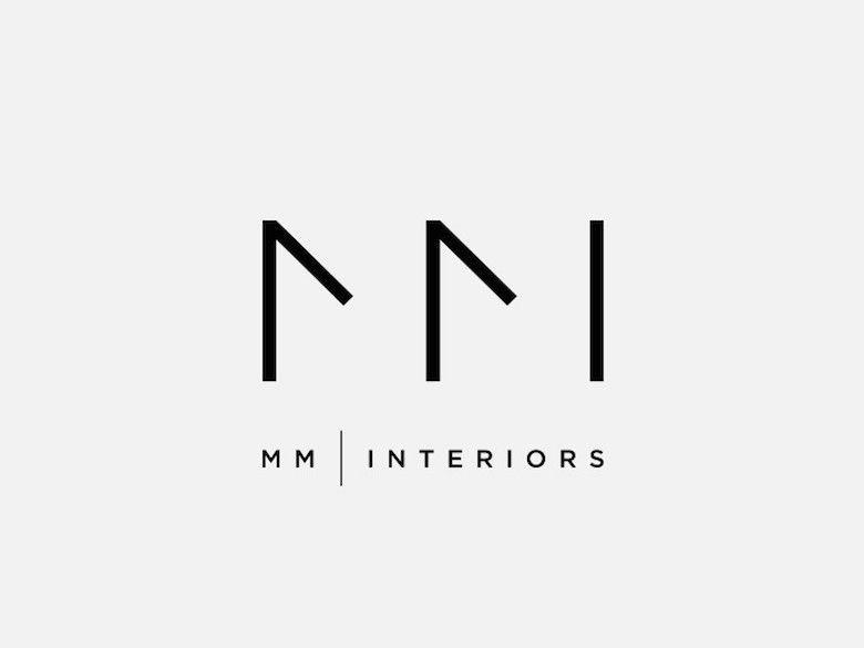 Creative Minimal Logos For Design Inspiration Mm Interiors