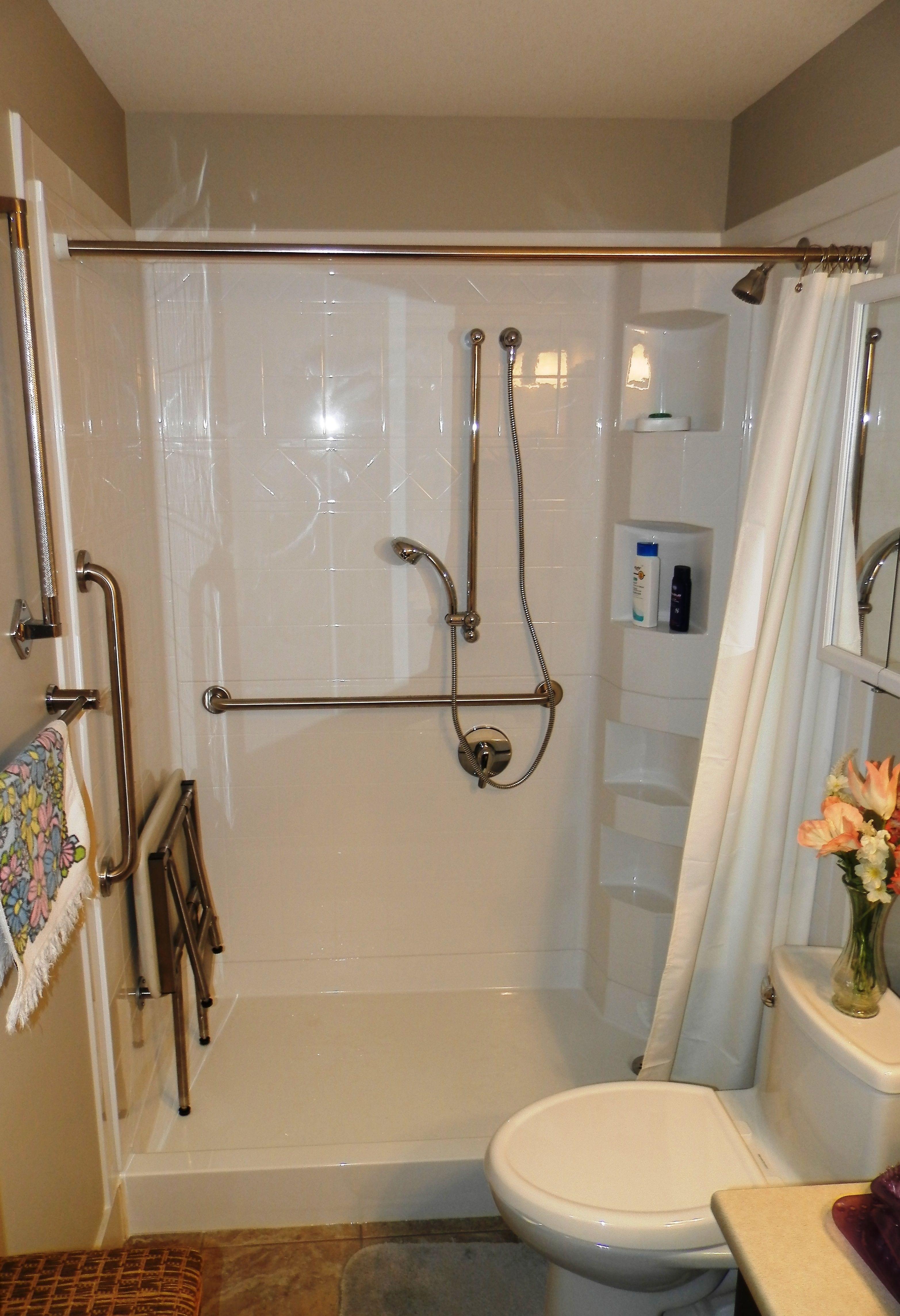 Best Bath 5 Piece Shower System With Standard Threshold Corner