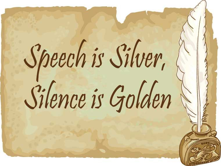 speech is silver silence is gold essay Essay on if speech is silver silence is gold: скачать: essay on if speech is silver silence is goldmd.