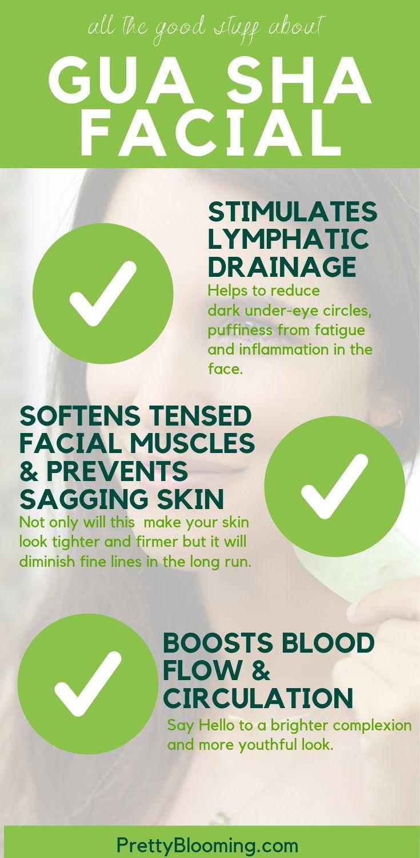 Klicken Sie auf das Bild, um mehr über die Vorteile der Verwendung eines Gua-Sha-Werkzeugs in Ihrer Hautpflege zu erfahren. Dieses kleine schöne Werkzeug kann Wunder für Ihre ...