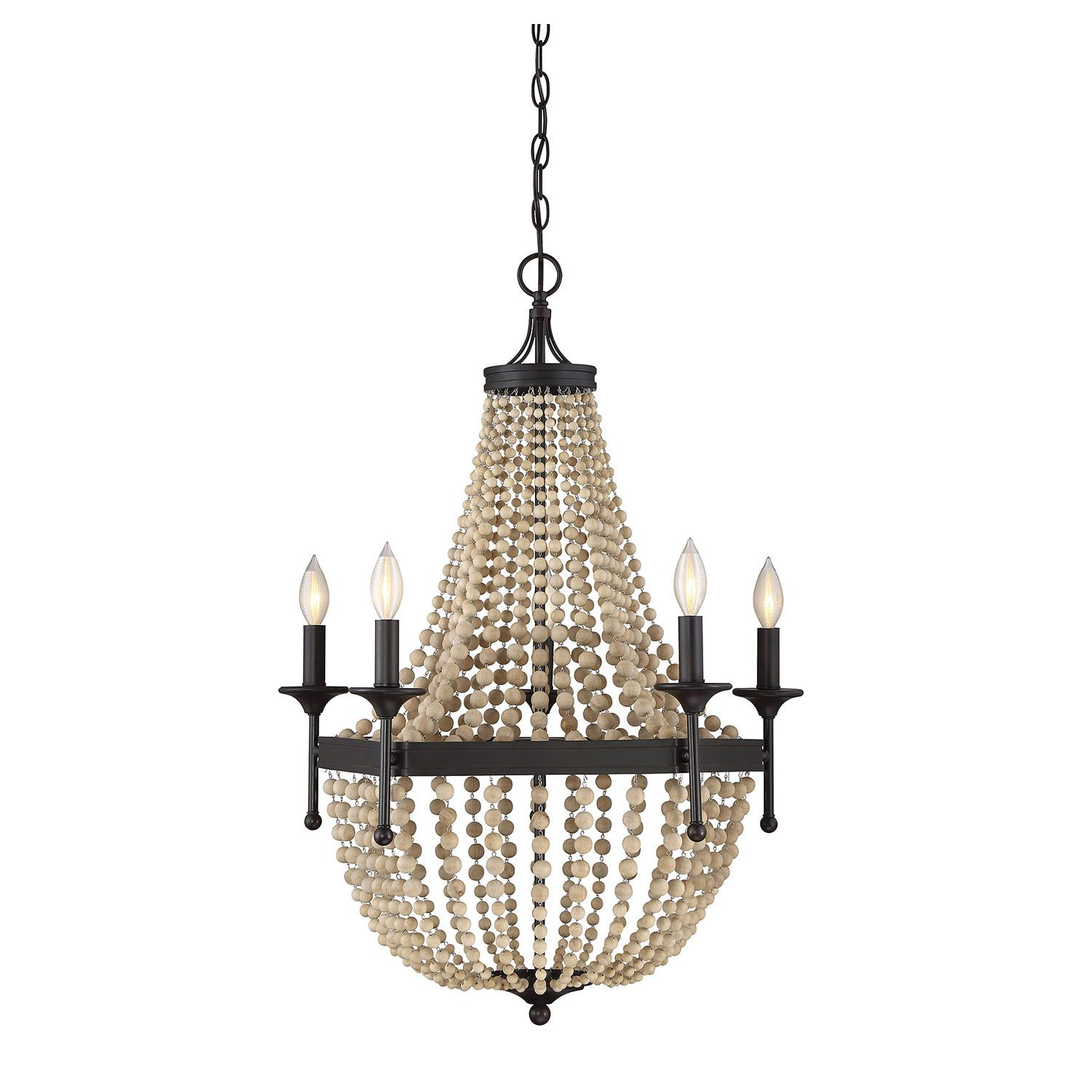 251 First Hayden Oil Rubbed Bronze Five Light Chandelier