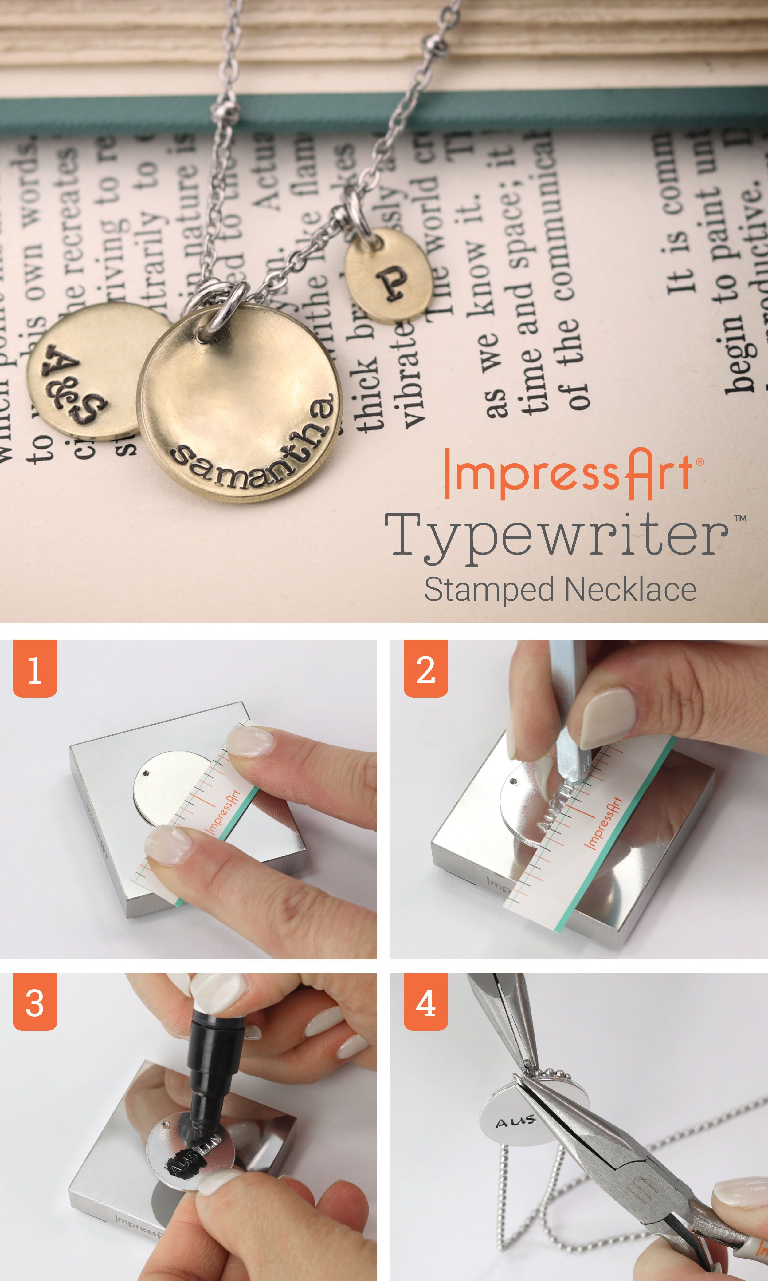How To Stamp Metal Jewelry Learn Here Diy Jewelry Metal
