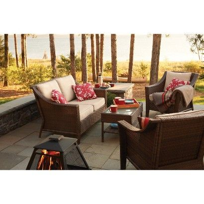 720 Rolston Wicker Patio Furniture Collection Threshold