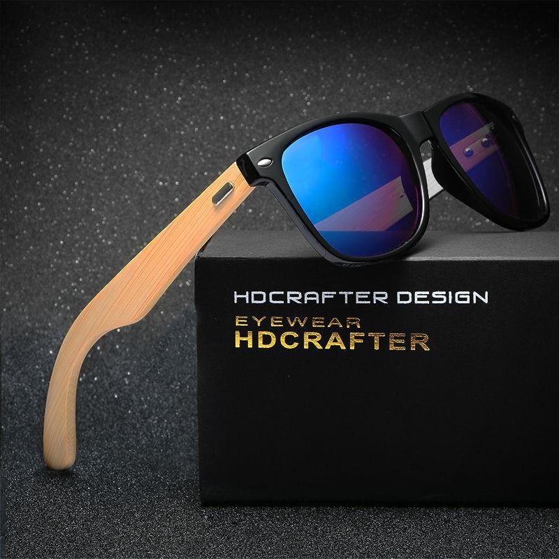 5409db08171 Retro Wood Sunglasses Unisex glasses ultraviolet prevention Night vision glasses  for Men Women