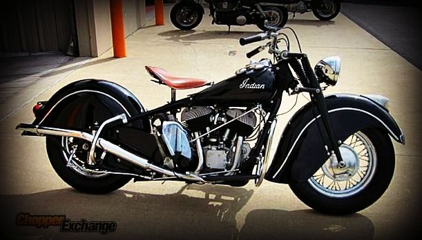For Sale 1947 Indian Chief Centre Hall Pa Www Chopperexchange Com 453032 For Full Listing Follow The Pin Ch Indian Motorcycle Indian Motorbike Indian