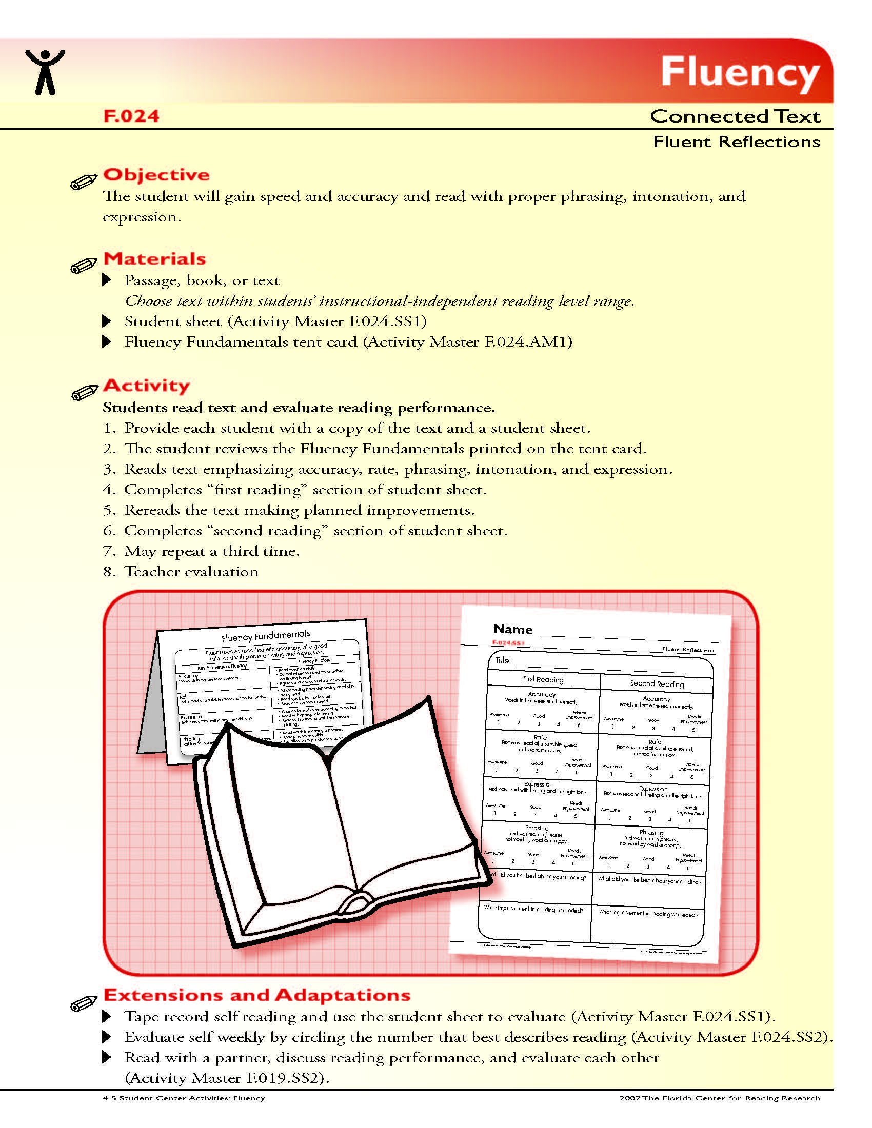 The Student Will Gain Speed And Accuracy And Read With Proper Phrasing Intonation And Ex Reading Foundational Skills Foundational Skills Third Grade Reading [ 2200 x 1700 Pixel ]
