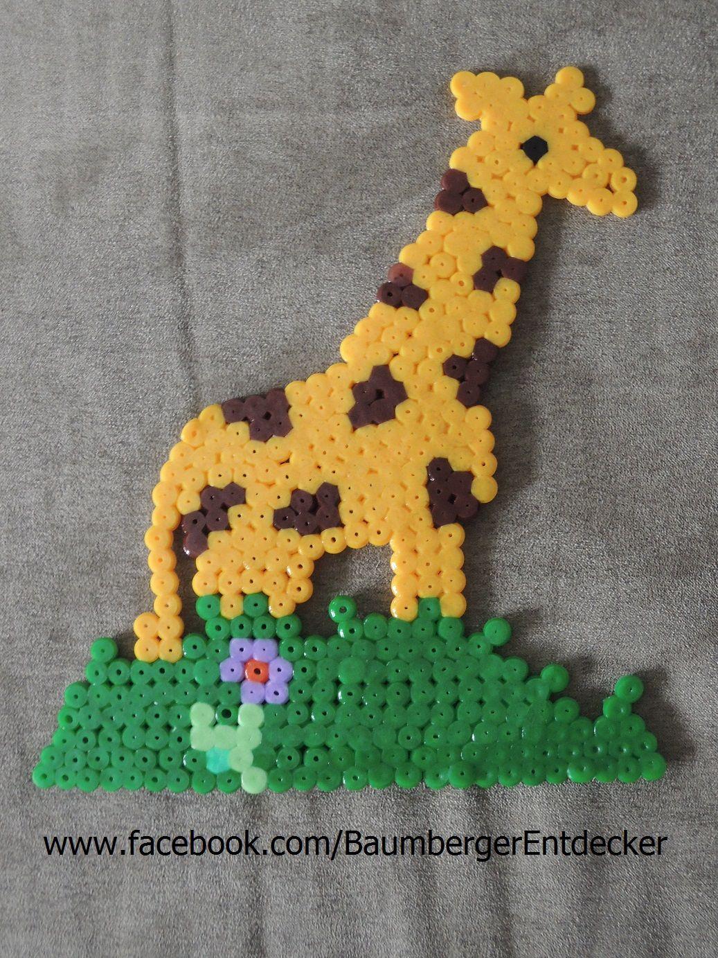 Giraffe Hama Beads Gift Set 3036 Bugelperlen Hama Perlen Tiere