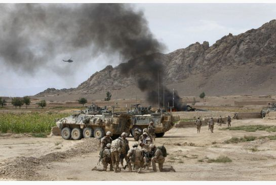 """""""fire fites"""" in afghanistan 