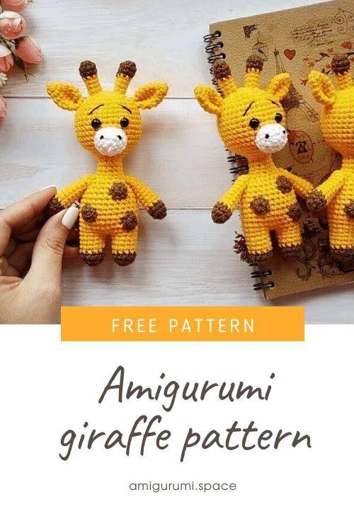 Crochet Giraffe Free Pattern