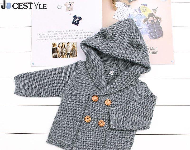 097a5395f Cheap Price Baby Sweater Baby Girls Cardigan With Ears Newborn Boys ...
