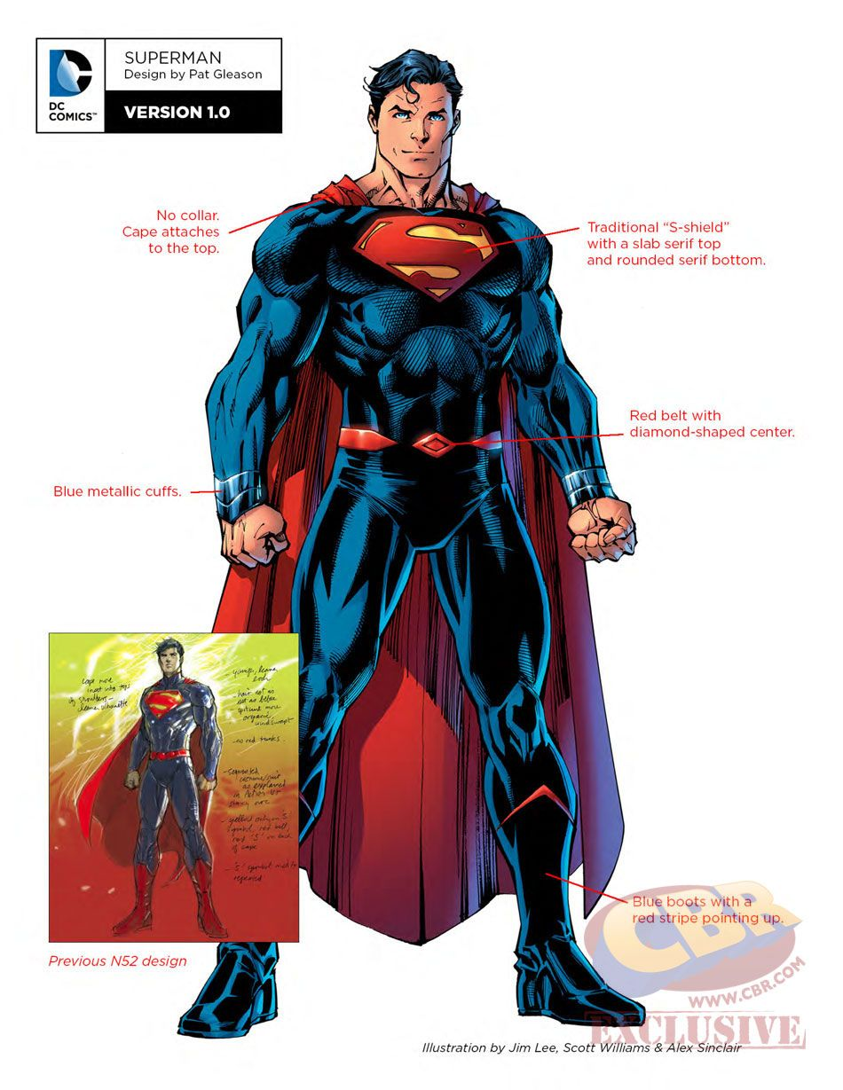 Although we've had some brief (and err, revealing) looks at some of the designs being used in DC's upcoming Rebirth shakeup, this is our best look yet at some of the new looks the DC multiverse's finest are going to be running around in in a few months.