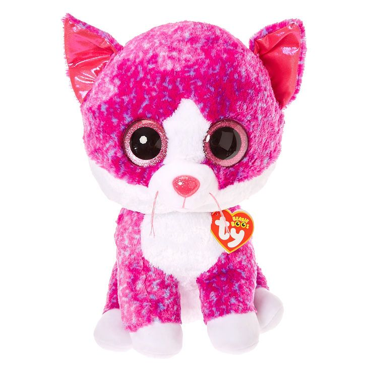 0ff5f23a3bc Ty Beanie Boo Large Charlotte The Cat Plush Toy