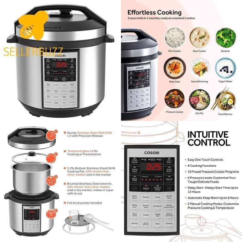 Pressure Cooker Ideas Pressurecookerideas Pressurecooker Cosori