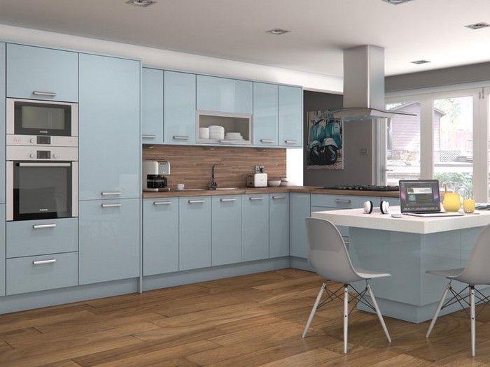 ▷ 1001 + Küchen Ideen in Blau lassen Sie sich inspirieren! - einrichtungsideen sitzecke in der kuche