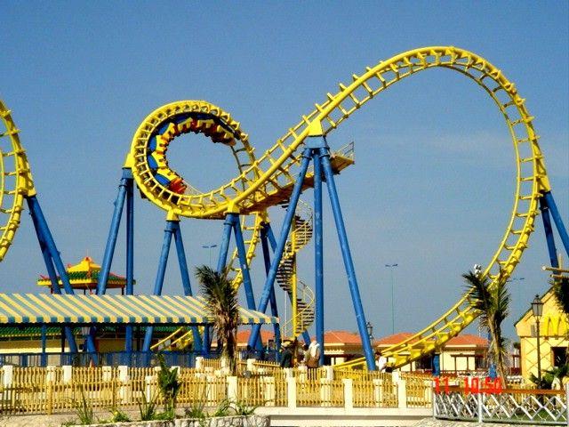 Krachen Al Shallal Theme Park Jeddah Makkah Saudi Arabia Roller Coaster Amusement Park Rides Theme Park