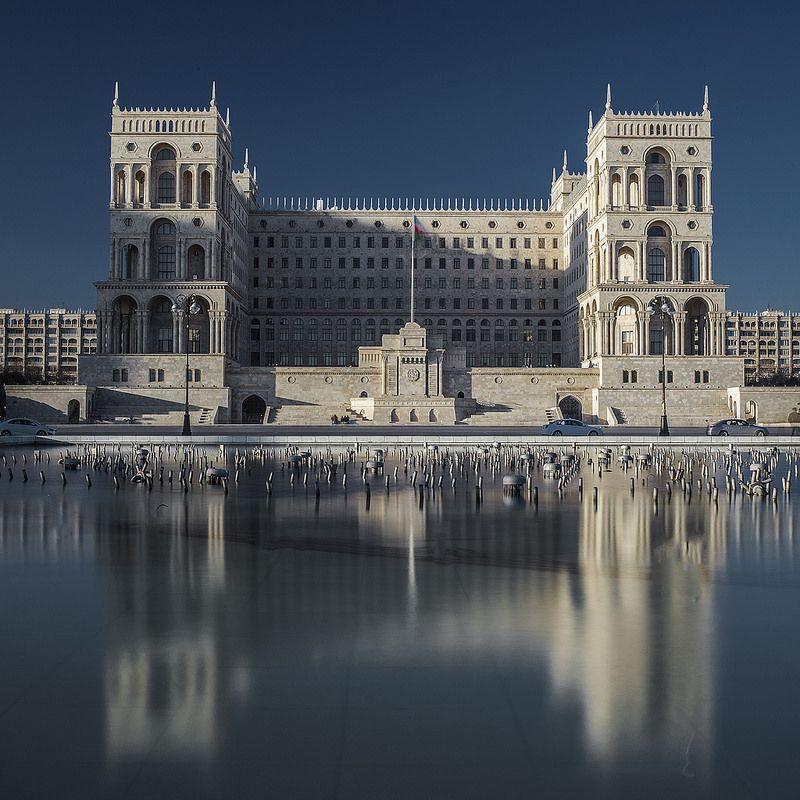 House of Government. #Baku #Azerbaijan #architecture