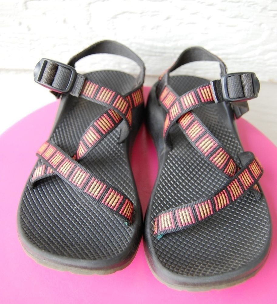 Chaco Z1 Yampa Red Sandals Women Size 9