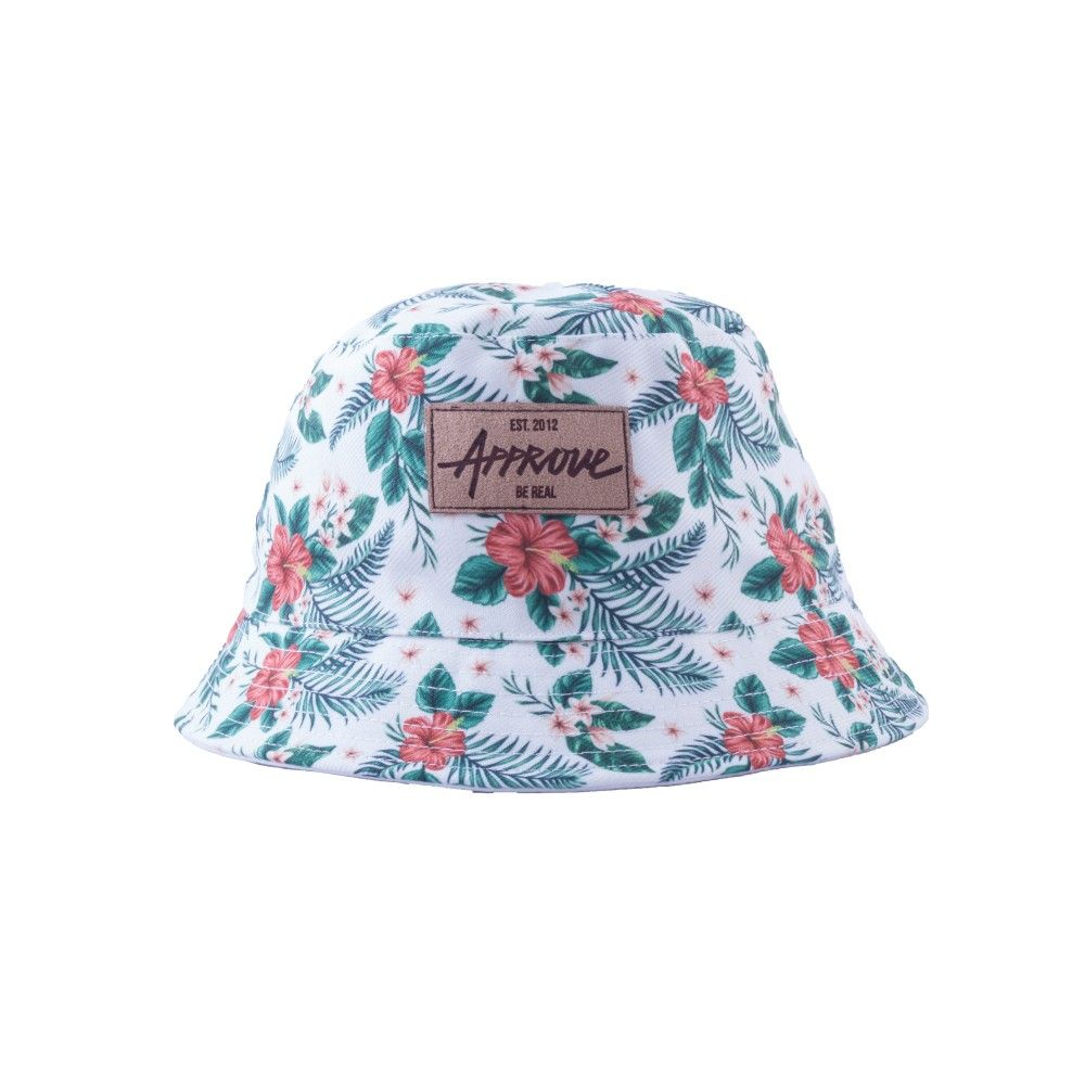 f71e2cd4be9d9 Bucket Floral White - devjustapprove