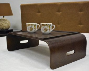 lap tray, laptop tray, breakfast tray, bean bag tray with stranded