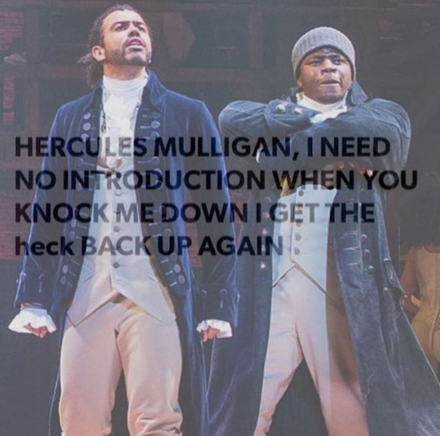 I literally do this because I don't curse. I do this to all the curse words in the musical.