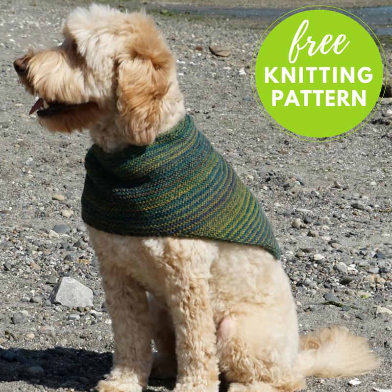 Striped Cowl Kerchief Free Knitting Pattern | Pinterest